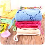 A029 二元30×30印花毛巾 印花卡通毛巾 韩版儿童毛巾 义乌