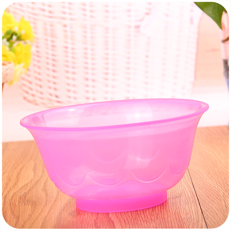 C198纯色圆水果沙拉碗地摊货源热卖2元店货源日用百货义乌小商品