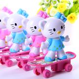 B200 2元KT猫滑板车 玩偶 玩具批发一元百货地摊货源批发厂家直销