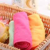A386 一元带花纤维毛巾清洁毛巾一元百货地摊货源批发厂家直销